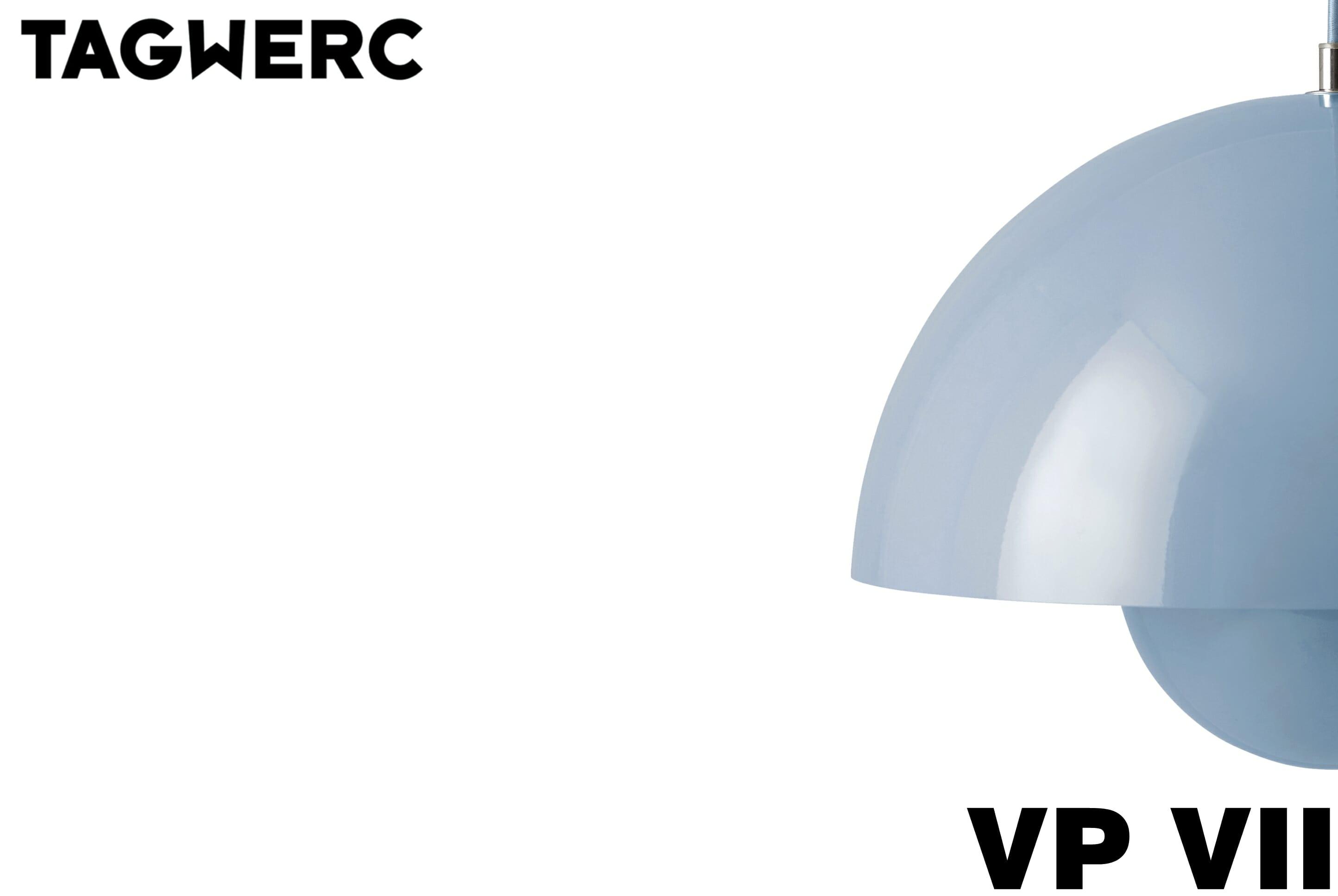 Picture of: Tradition Flowerpot Vp7 Pendant Light Verner Panton