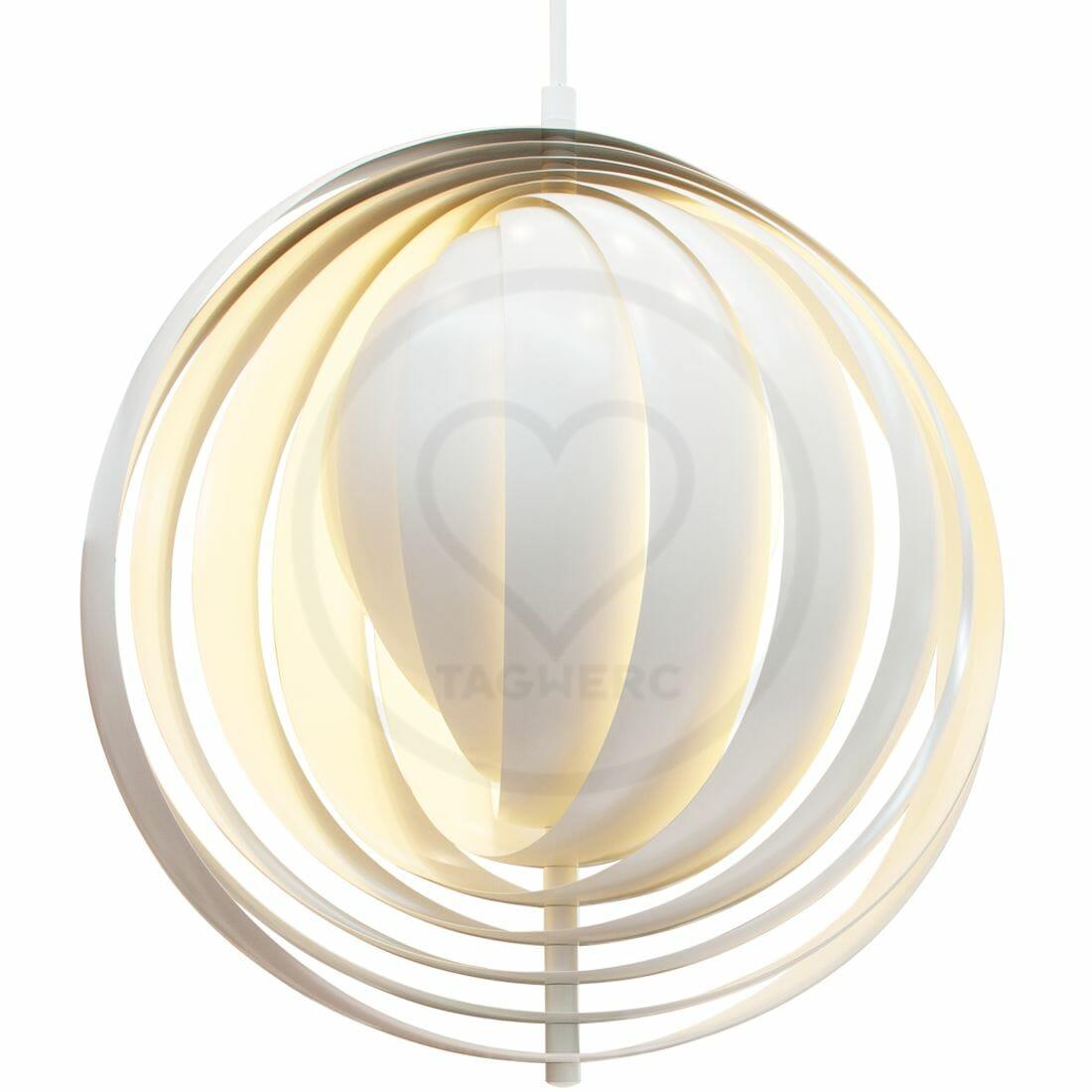 Verpan Moon Lamp Xxxl Pendant Light White Verner Panton